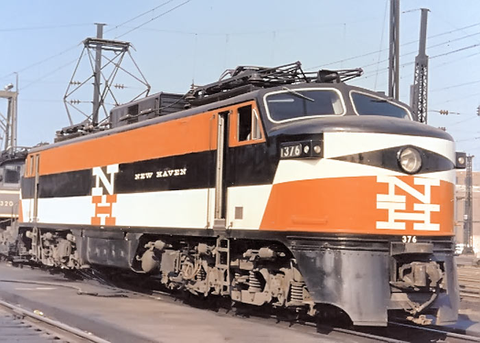 New Haven Rail Road (NHRR) Logo, between 1952-1955