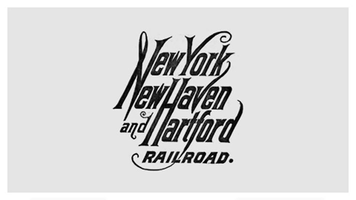 New Haven Rail Road (NHRR) Logo Development, between 1952-1955