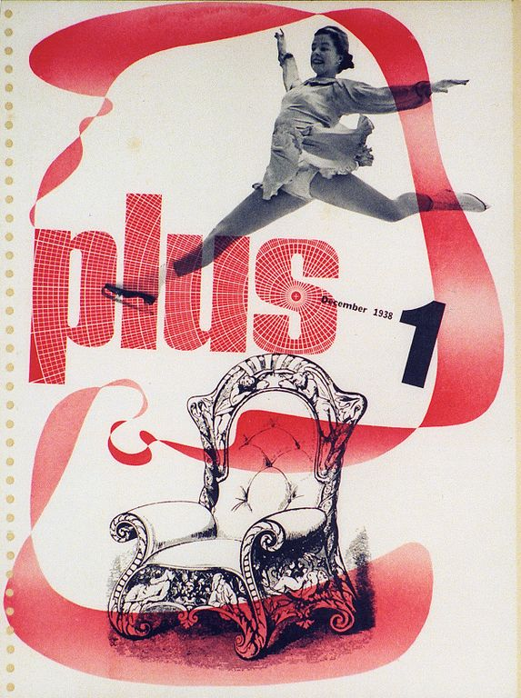 Plus Magazine Cover, 1938